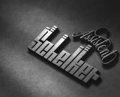 Assistent Schelker Logo kreation 3D